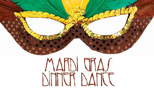 mardi gras dinner dance