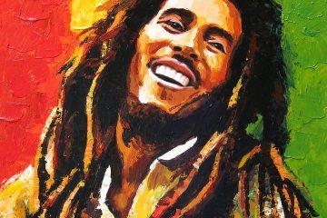 Bob Marley By Enxu Zhou